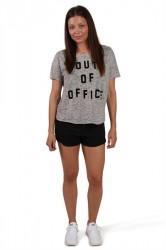 Catwalk Junkie - T-shirt - TS Office - Grey Melange
