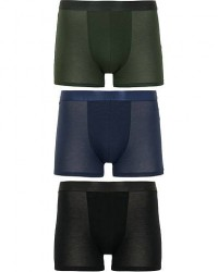 CDLP 3-Pack Boxer Briefs Black/Army Green/Navy men S Sort