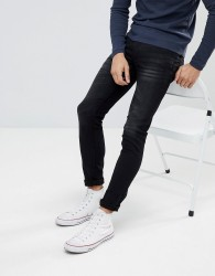 Celio Black Skinny Fit Jeans - Black