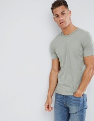Celio Crew Neck T-Shirt In Green - Green