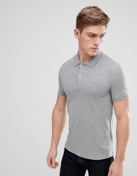 Celio Polo Shirt In Grey - Grey