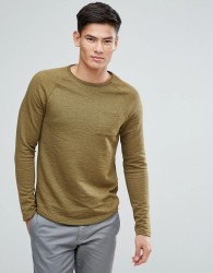 Celio Sweatshirt with Pocket - Green