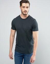 Celio T-Shirt with Pocket - Black