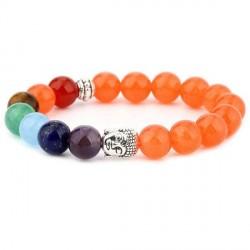 Chakra Buddha armbånd - Lykkearmbånd