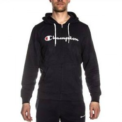 Champion Hooded Full Zip Sweatshirt - Navy-2 - X-Large * Kampagne *