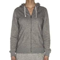 Champion Institutionals Hooded Full Zip Sweatshirt - Grey * Kampagne *