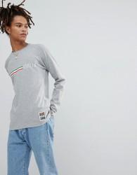 Champion Italia Long Sleeve T-Shirt - Grey
