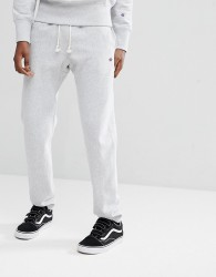 Champion Joggers With Small Logo In Grey - Grey