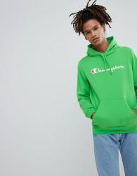 Champion Logo Hoodie - Green