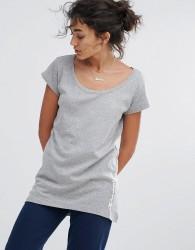 Champion Scoop Neck T-Shirt - Grey