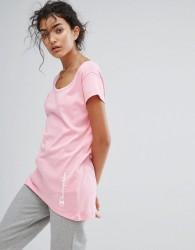 Champion Scoop Neck T-Shirt - Pink