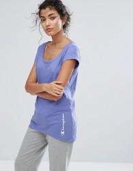 Champion Scoop Neck T-Shirt - Purple