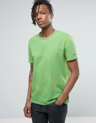 Champion T-Shirt With Sleeve Logo - Green