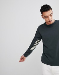 Champion x Wood Wood Madness Long Sleeve T-Shirt In Green - Green