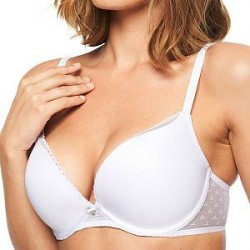 Chantelle Courcelles Push-up Bra - White * Kampagne *