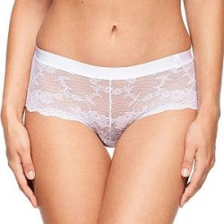Chantelle Everyday Lace Low-Cut Shorty - White * Kampagne *