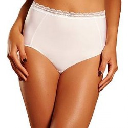 Chantelle Soft Package High-Waisted Brief - White * Kampagne *