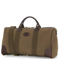 Chapman Bags Flight Holdall Canvas Weekendbag Deep Olive men One size Grøn