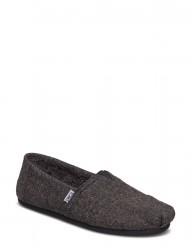 Charcoal Speckled Tweed/Faux