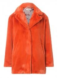Charlotte Sparre - Fur Coat Midi - Orange