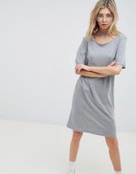 Cheap Monday Belong Neck Strap Shift Dress - Grey
