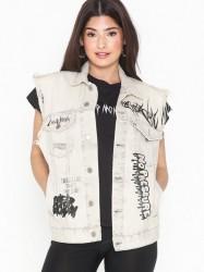 Cheap Monday Cult Vest Average White Veste