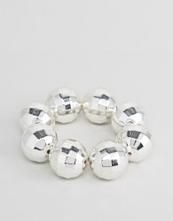 Cheap Monday Disco Ball Bracelet - Silver