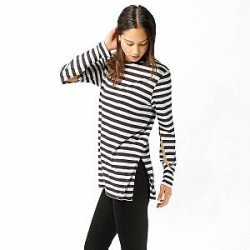 Cheap Monday Longsleeve - Road Cage Stripe