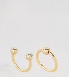 Cheap Monday Pierced Rings - Gold