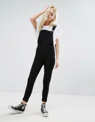 Cheap Monday Spray Dungaree - Black