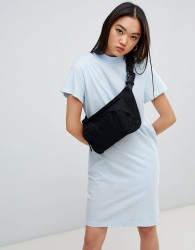 Cheap Monday Square Logo Smash Dress - Blue