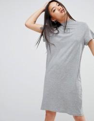 Cheap Monday Square Logo Smash Dress - Grey