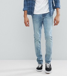 Cheap Monday TALL Sonic Slim Jeans Crew Blue - Blue