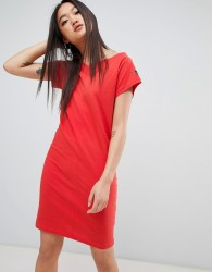 Cheap Monday Yang Logo Fine Dress - Red