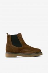 Chelsea-boots Jone med broguemønster