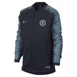 Chelsea FC Anthem-fodboldjakke til store børn - Blå