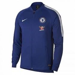Chelsea FC Dri-FIT Squad-fodboldtræningsjakke til mænd - Blå