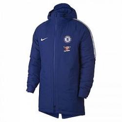 Chelsea FC Squad-jakke til mænd - Blå