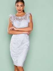 Chi Chi London Thea Dress Kropsnære kjoler Grey