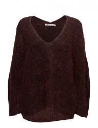 Chunky Mohair Marl Bracelet Sleeve Vnk Sweater