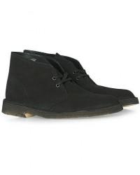 Clarks Originals Desert Boot Black Suede men UK7,5 - EU41,5 Sort