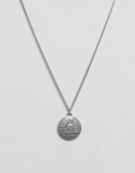 Classics 77 Disc Pendant Necklace In Antique Silver - Silver