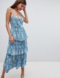 Closet London Layered Cami Dress - Blue