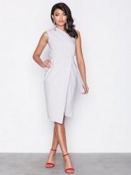 Closet One Shoulder Midi Dress Kropsnære kjoler Grey