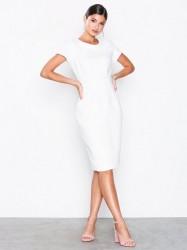 Closet Paneled Pencil Dress Loose fit White