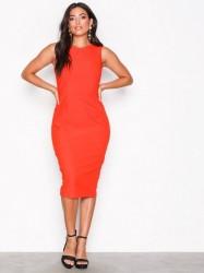 Closet Sleeveless Pencil Dress Kropsnære kjoler Orange