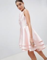 Club L Hi Lo Prom Dress - Pink