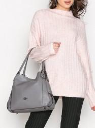 Coach Edie 31 Shoulder Bag Håndtaske Heather Grey