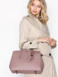 Coach Glovetanned Leather Cooper Carryall Håndtaske Dusty Rose