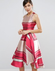 Coast Bay Shore Stripe Dress - Multi